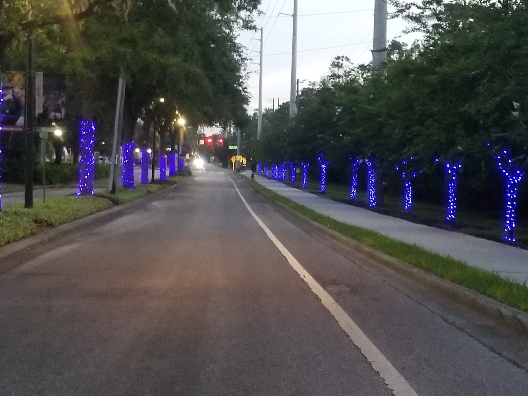 City-of-Largo-Police-Department-Lit-up-Blue-for-Paint-the-Twon-Blue-2021-FBITCAAA-PIc-2-of-4