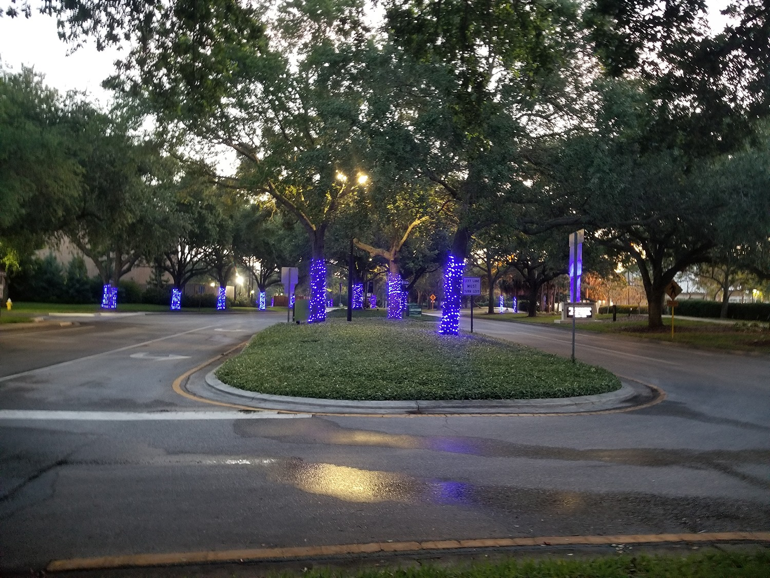City-of-Largo-Police-Department-Lit-up-Blue-for-Paint-the-Twon-Blue-2021-FBITCAAA-PIc-4-of-4
